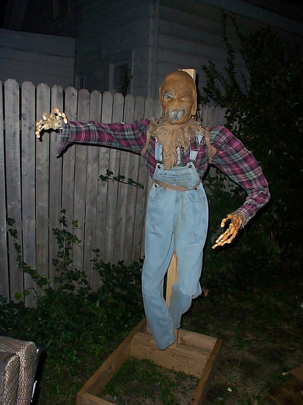 Scary Scarecrow Art Drawing Free Image