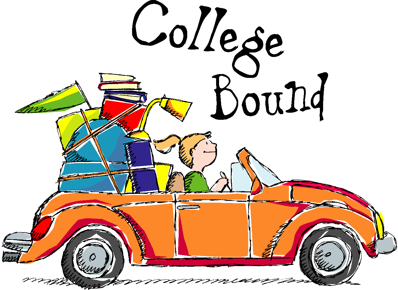 Going To College Clip Art free image