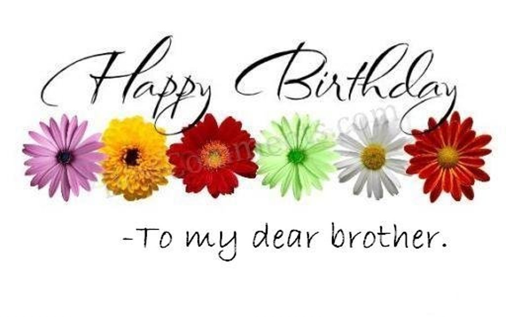 Happy Birthday Brother Wishes free image