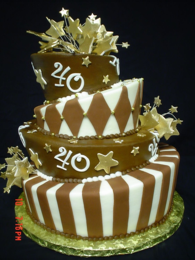 Superb Birthday Cake For 40 Year Old Man Free Image Funny Birthday Cards Online Bapapcheapnameinfo