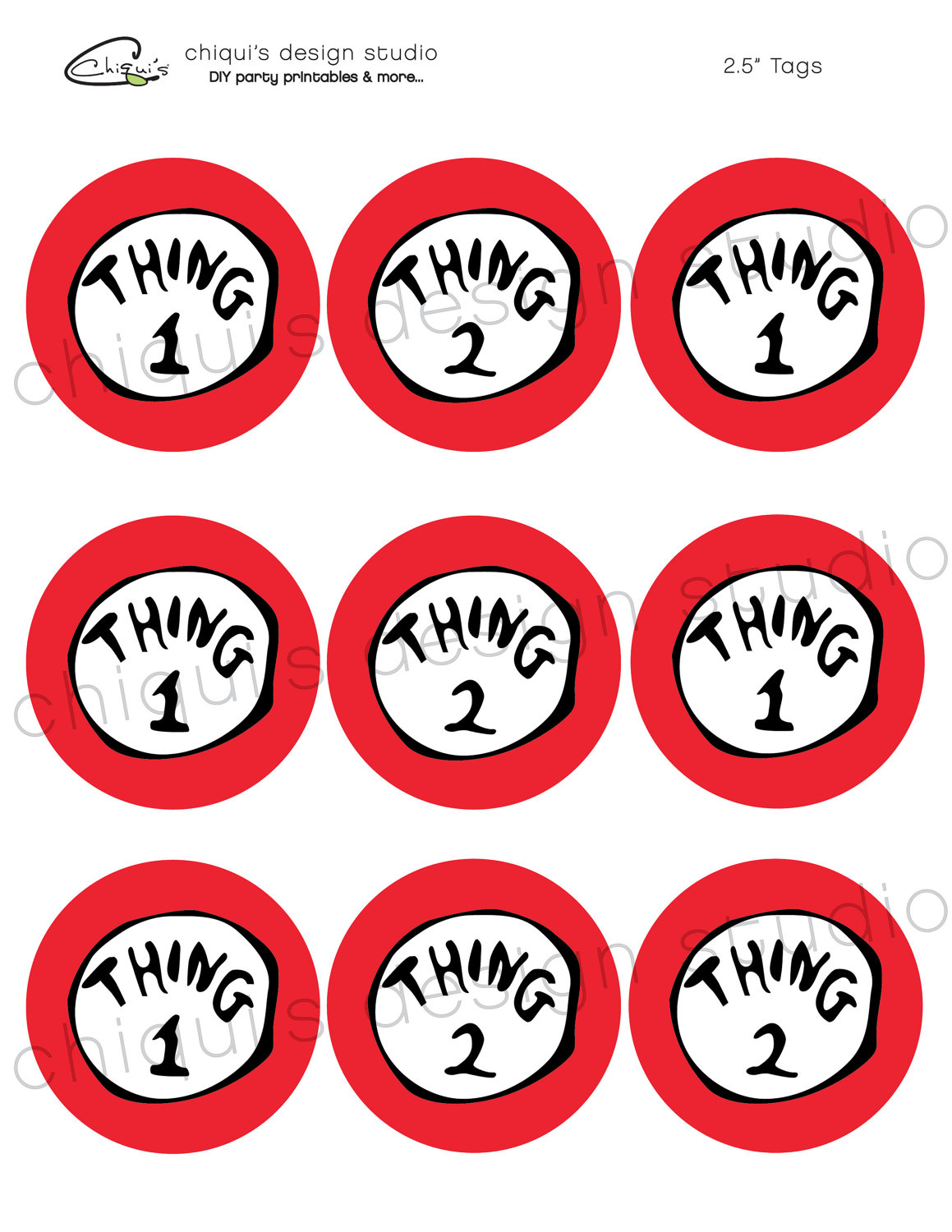 picture relating to Thing 2 Logo Printable titled Point 1 And 2 Printables N2 totally free picture