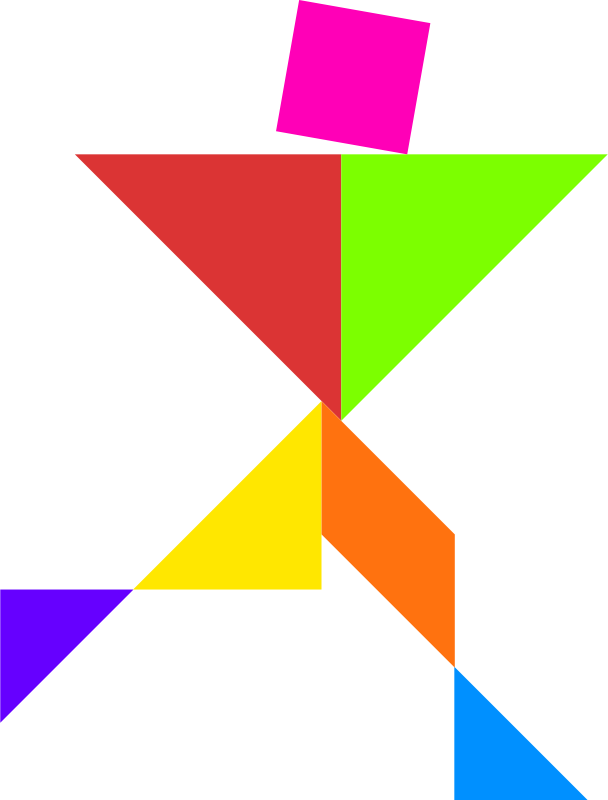 picture regarding Printable Tangram Puzzles known as Printable Tangram Puzzles Condition N4 free of charge graphic