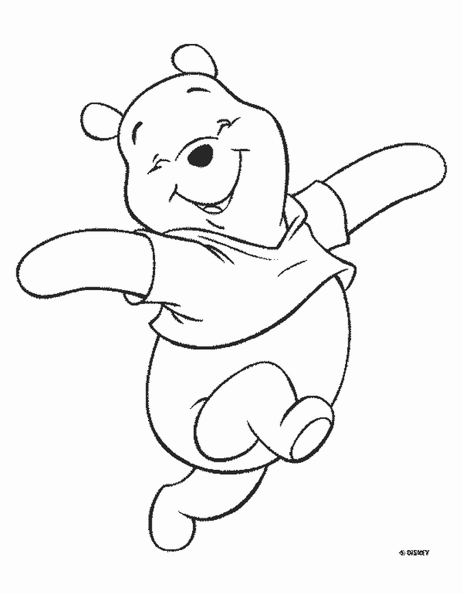 80 Coloring Book Pages Of Winnie The Pooh  Images