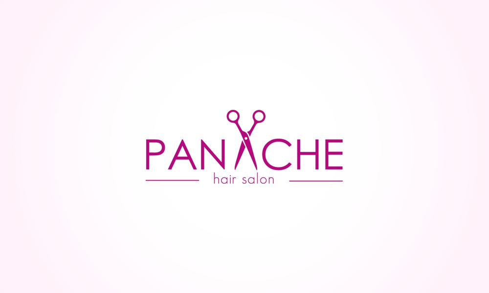 Hair Salon Logo Design Drawing Free Image