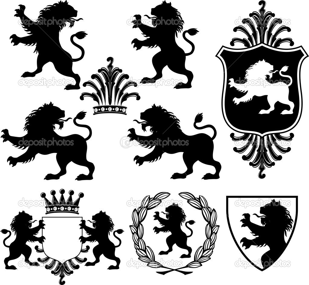 Lion With Crown Logo N2 Free Download
