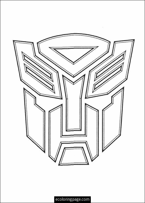 Transformers Optimus Prime Coloring Pages Free Image