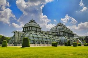 picture of palm house in Schönbrunn Palace