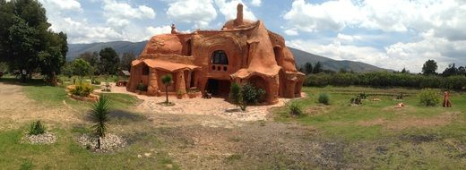 Terracotta House, colombia, villa de leyva