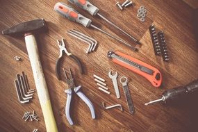 tools construct craft repair equipment for real man