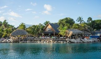 caribbean tropical exotic resort