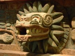 quetzalcoatl, god, aztec, mexico ,old,ancient,tribe,culture,ruins,civilization