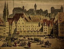 painting middle ages nuremberg
