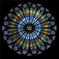 rose window strasbourg cathedral