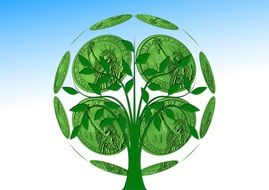 Protecting the environment is to take measures to eliminate the negative impact of human activities on it