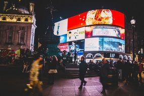 Night piccadilly circus