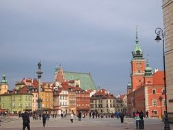 warsaw the old town poland