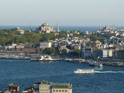old town at bosphorus, turkey, istanbul