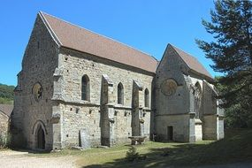 Old monastery in Val saint benoit