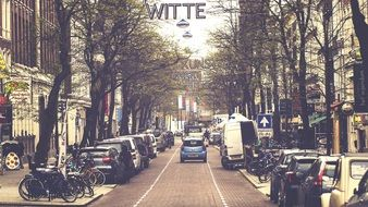 transport on street at Witte de With Center for Contemporary Art, netherlands, rotterdam