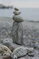 stones sculpture statue fig