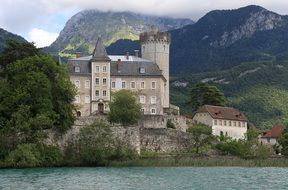 annecy lake house Haute-Savoie in France