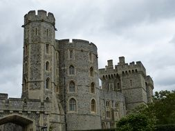 middle ages castle United Kingdom