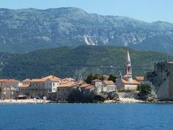 Budva is a city in Montenegro on the Adriatic coast