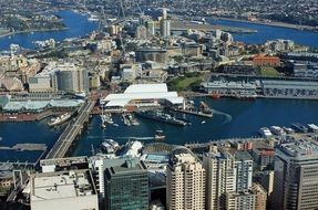 sydney darling harbour port
