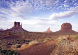 monument valley arizona sandstone buttes