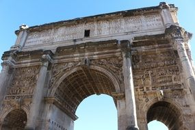 rome antique architecture stone roman forum