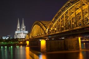 cologne culture night germany architecture