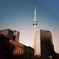 CN Tower - the tallest building in Toronto, Canada