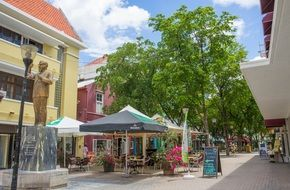 curacao architecture caribbean islands