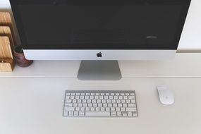 compact mac workspace
