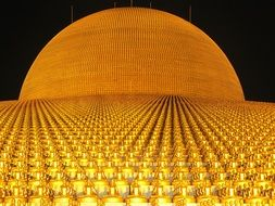 dhammakaya pagoda more than million budhas