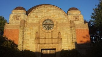 Congregation Beth Israel synagogue, usa, oregon, portland