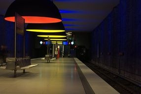 metro munich light bavaria
