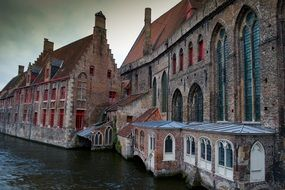 Bruges - a city in Belgium, the center of the province of West Flanders