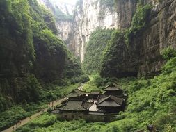 zen canyon the ancient town