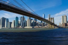 phantastic brooklyn bridge manhattan downtown