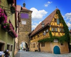 rothenburg of the deaf sieber tower