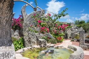 bright coral castle florida attraction