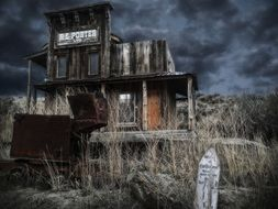 ghost town forgotten place wild west