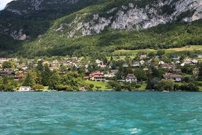 village by the annecy lake