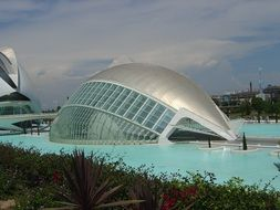 El Museu de Ciences Principe Felipe in City of Arts and Sciences, spain, valencia