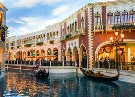 Romantic venetian Resort Hotel Casino