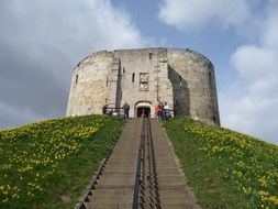 cliffords tower york castle stone