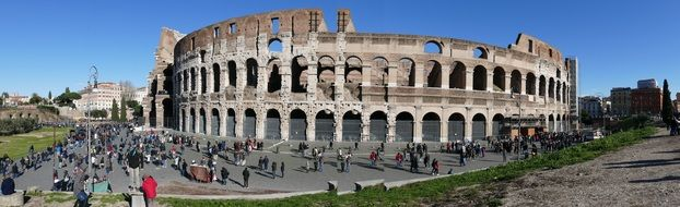 colosseum rome amphitheater italy