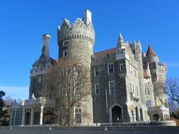 casa loma, Gothic Revival style mansion, canada, toronto