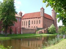 Old castle in a Poland